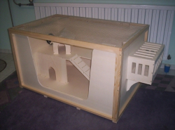 Build your own Guinea Pig Cage Small Animal Cage Plans