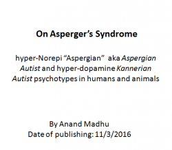On Asperger's Syndrome