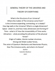 Theory of everything in the universe